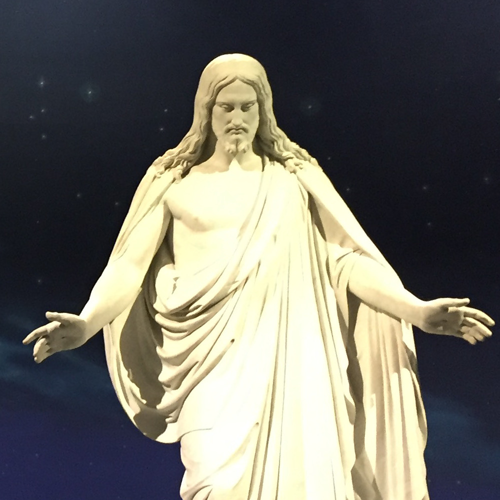 Christus at Temple Square